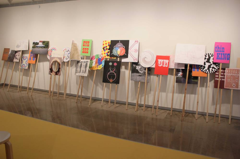 5 - What's it doing, installation shot, AAG 2013-14 3