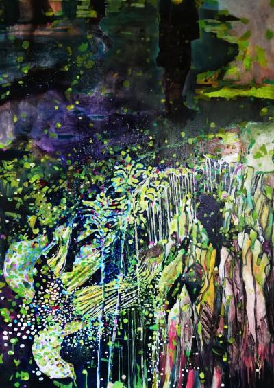 Mere Clifford Maungataketake Oil on Canvas 122 x 91 cm