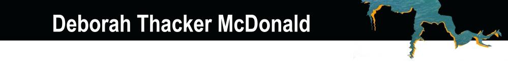 website Deborach Thacker McDonald